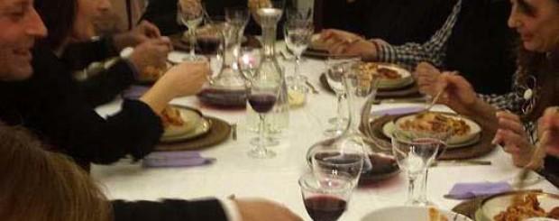 a cena da un napoletano
