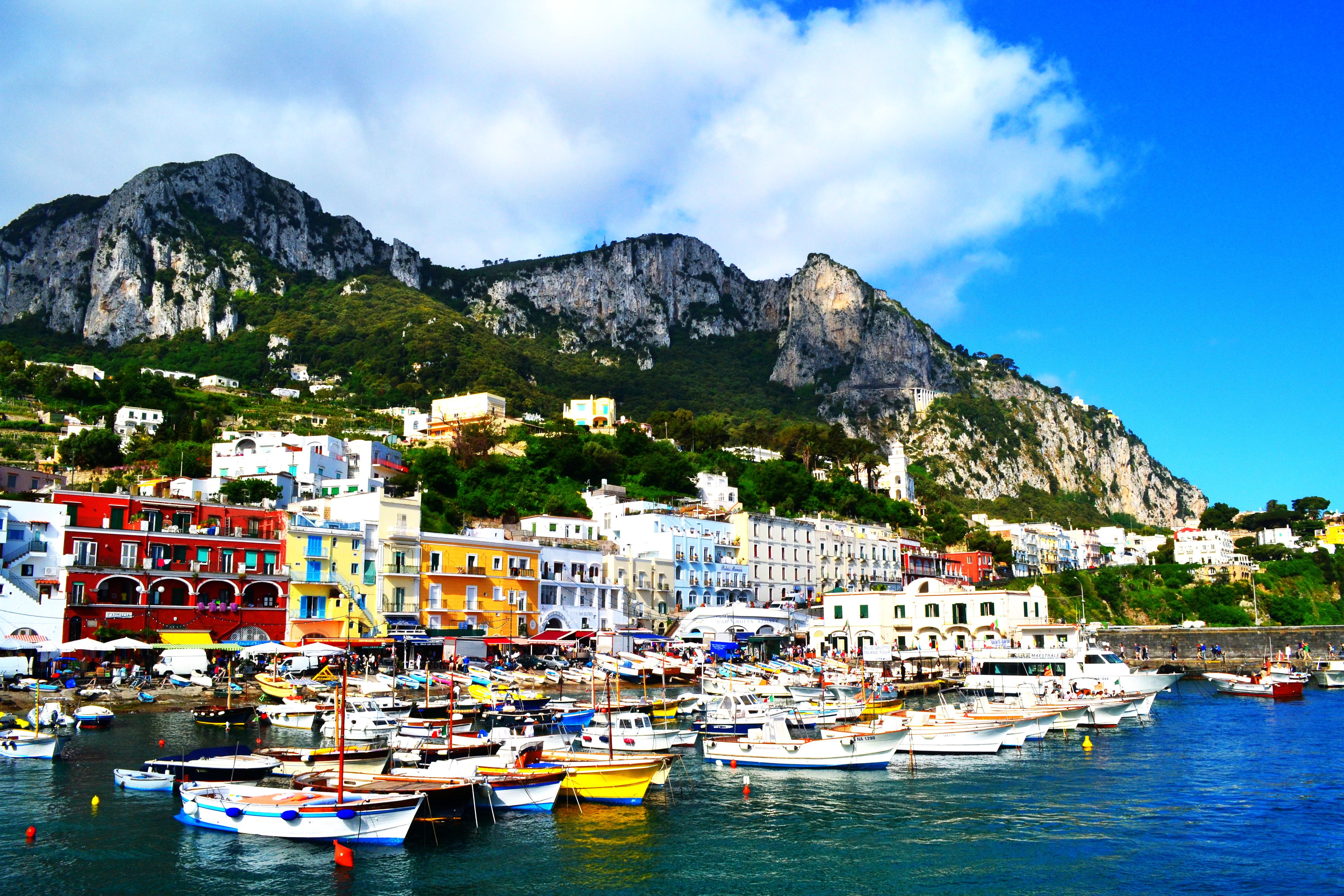 Come To Napoli 187 Boat Trip Around Capri