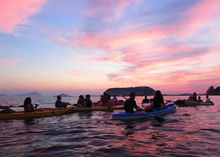 come to napoli kayak tour napoli